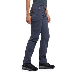 Haglöfs Breccia Lite Pantalon Femme, dense blue